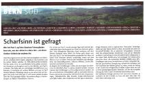 Artikel in der Berner Zeitung